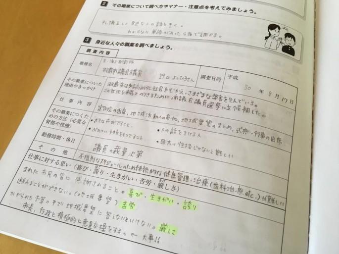 夏休みの宿題②