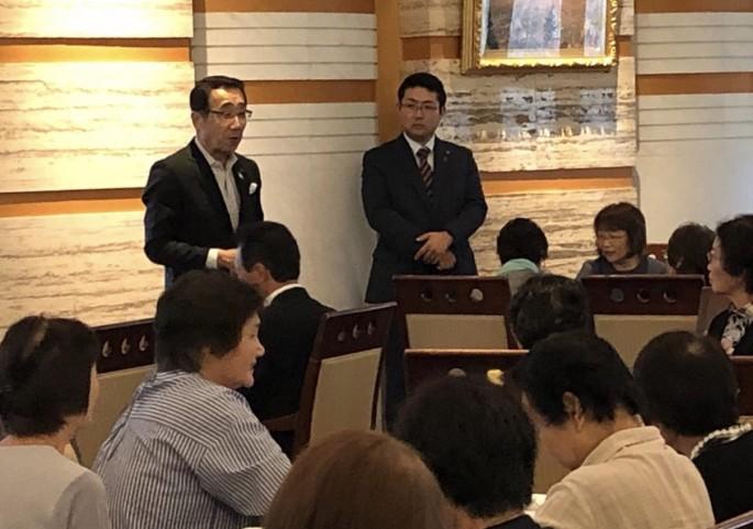 松井市長ありがとうございました!