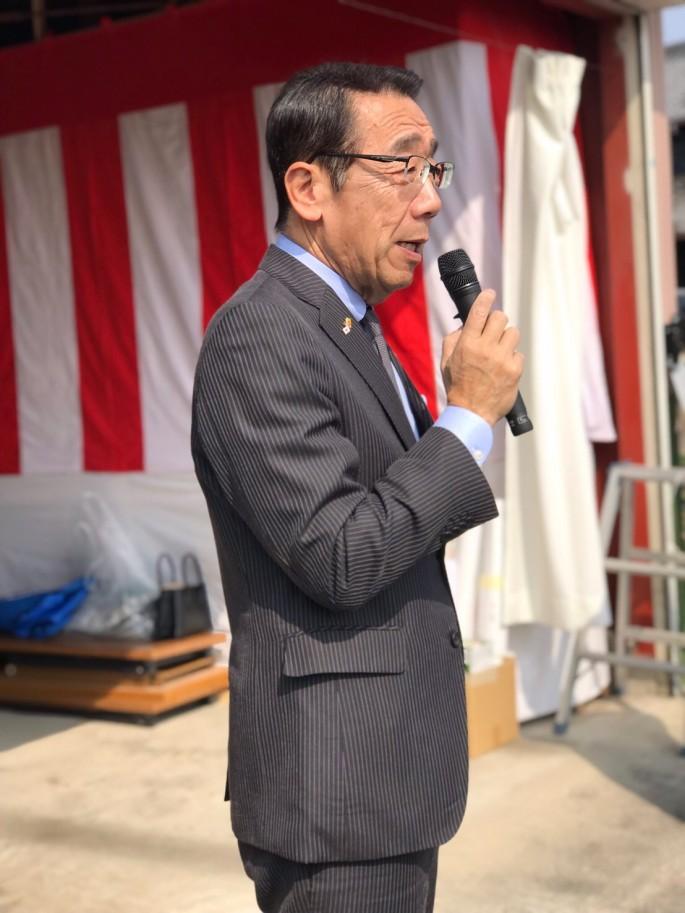 ご来賓:松井聡羽島市長