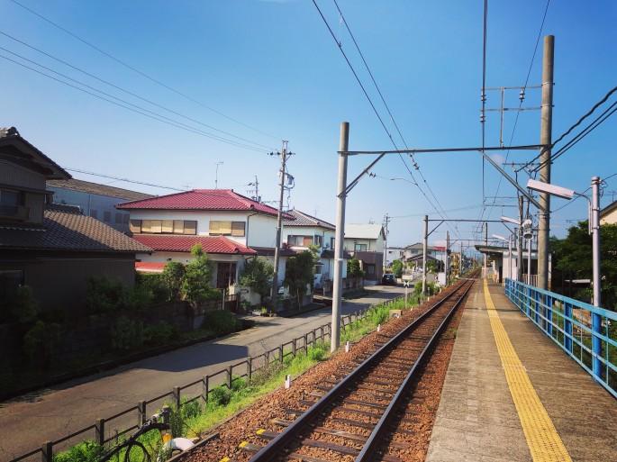 竹鼻線・須賀駅から出発