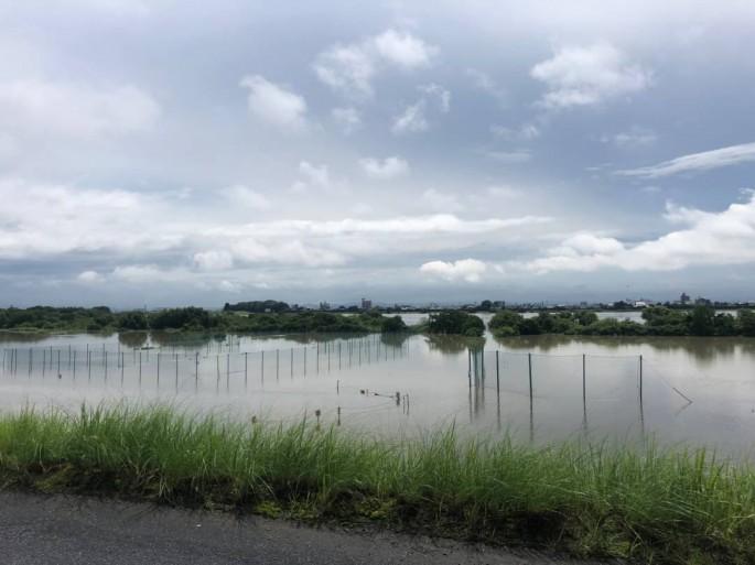 木曽川堤外